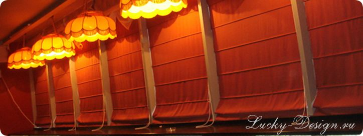 Японские панели шторами