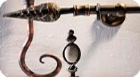 кованые карнизы коллекции Кремона