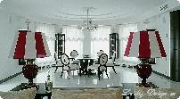 шторы и тюль в зал