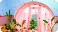 шторы для арочных окон