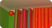 Как выбрать шторы для детской
