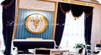 шторы в спальню готовые