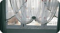 шторы из ниток