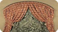шторы французские