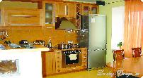 шторы для кухни в интерьере