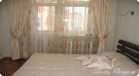 натяжной потолок карниз для штор к потолку