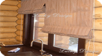 Как выбрать шторы для коттеджей