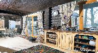 шторы на кухню из сетки