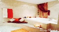 шторы для спальни с покрывалом