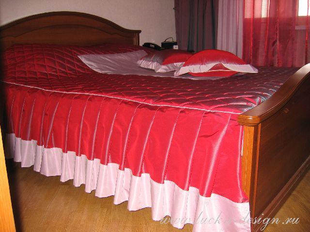 покрывал на кровать фото