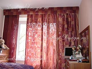японские шторы дизайн