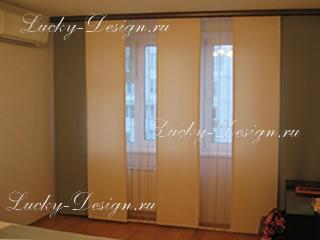 японские шторы японские панели фото