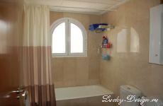 Шторы в ванную комнату в гостиницу в Испании