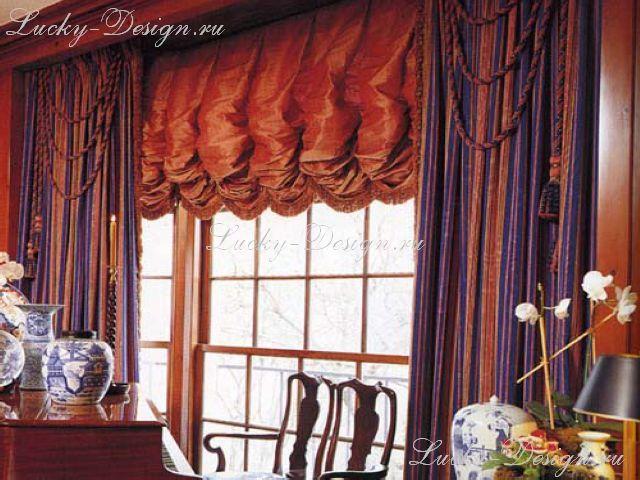 шторы для больших окон