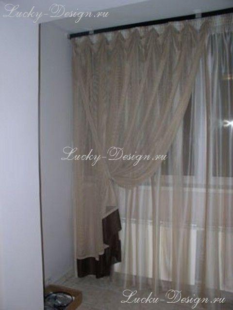 шторы для спальни без ламбрекена