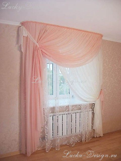 Шторы для комнаты с балконом