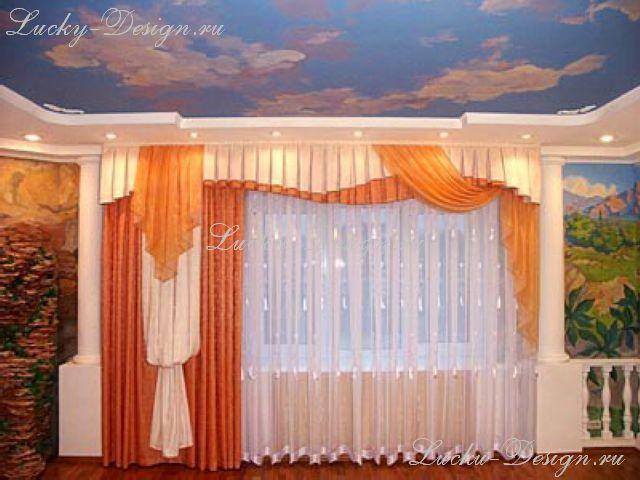 шторы с ламбрекеном для детской комнаты
