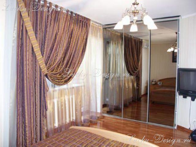 шторы несимметричные