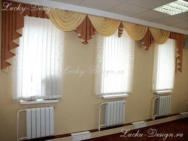 Красивые шторы для гостиной без ламбрекена