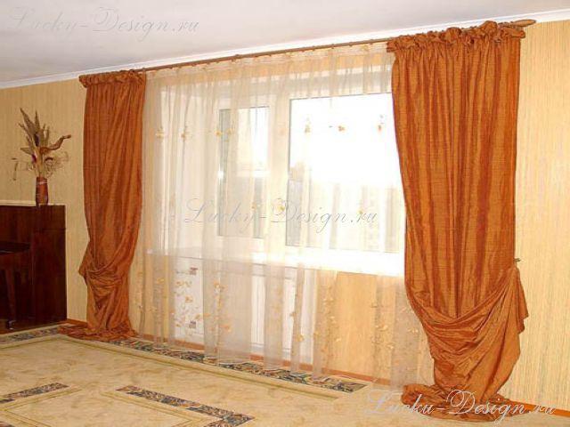 Шторы для гостиной фото 2011