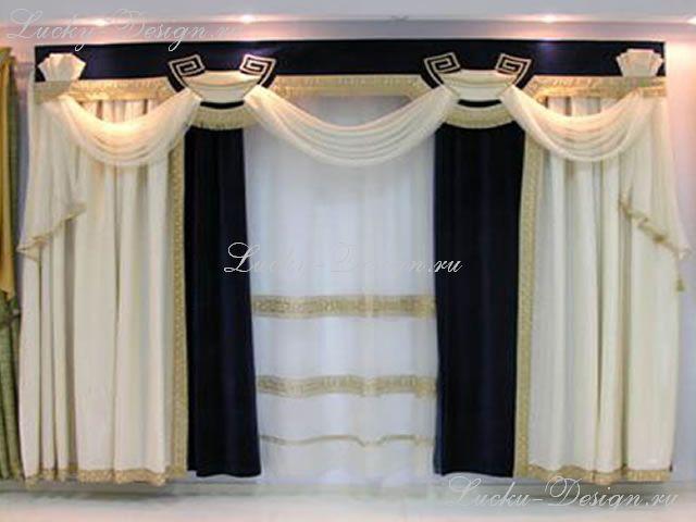 шторы в спальню комплект
