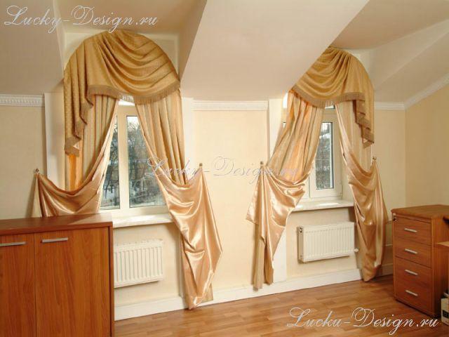 шторы для мансарды