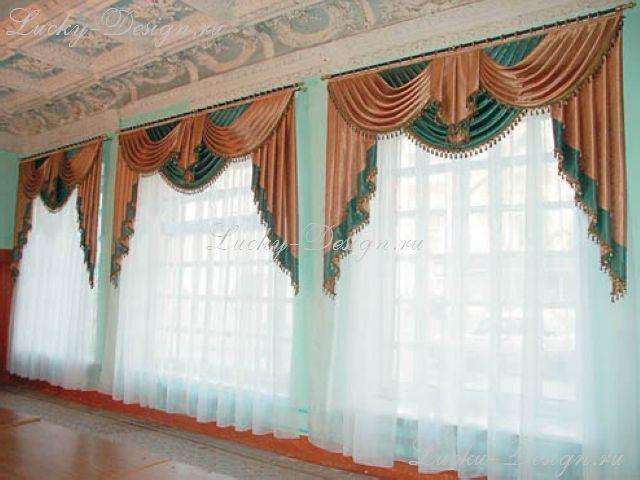 Шторы в зал: фото 2010