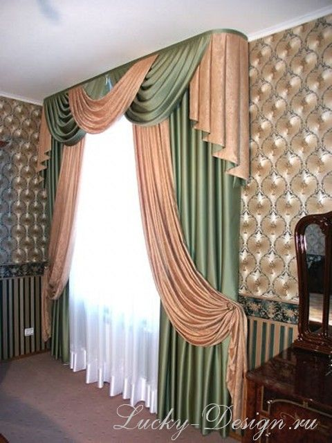 шторы для коттеджа фото