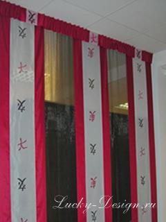 панельные японские шторы
