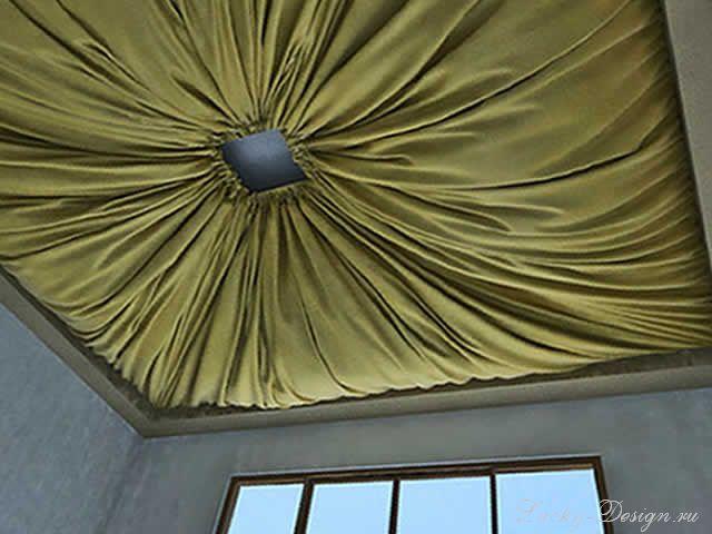 Потолочные шторы фото