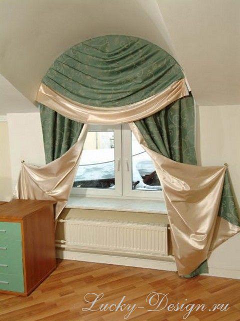 шторы для наклонных окон