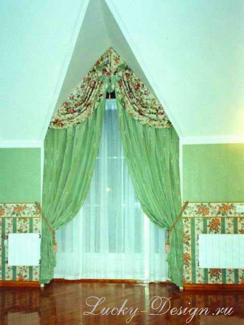 нестандартные шторы на окна