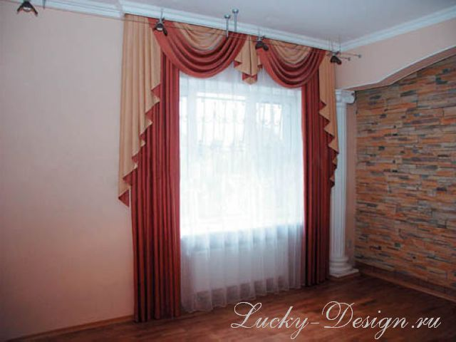шторы для маленькой комнаты фото