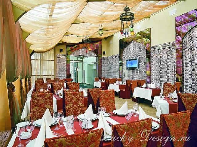 шторы для ресторанов и кафе фото