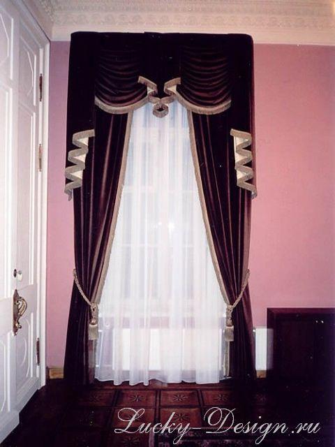 шторы в банкетный зал