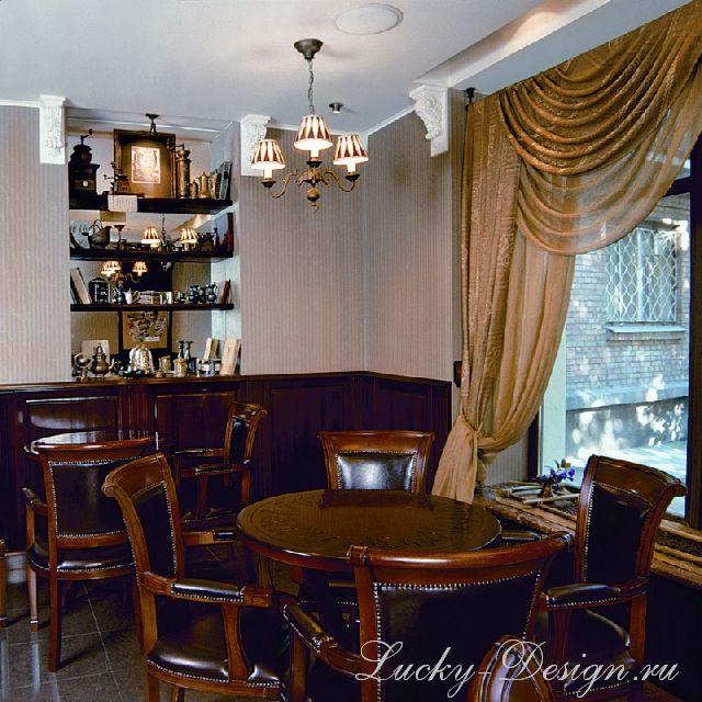 шторы в бар