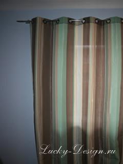 тюль на люверсах для гостиной