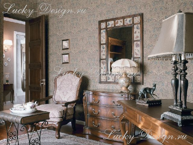 чехлы мебельные в спальню в стиле барокко