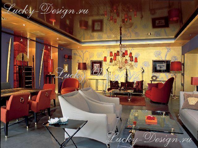 дизайн штор для кафе и ресторанов фото
