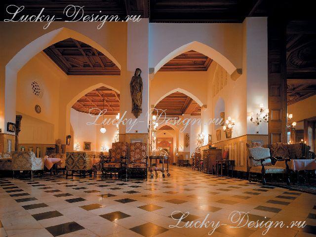 дизайн штор для кафе и ресторанов