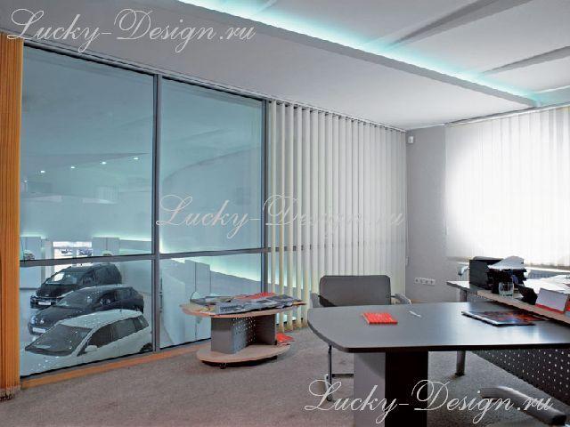 дизайн штор для ресторана