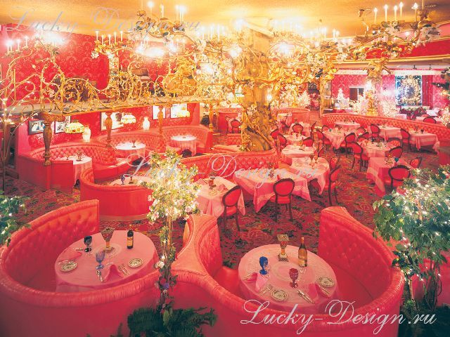 дизайн штор для ресторанов фото