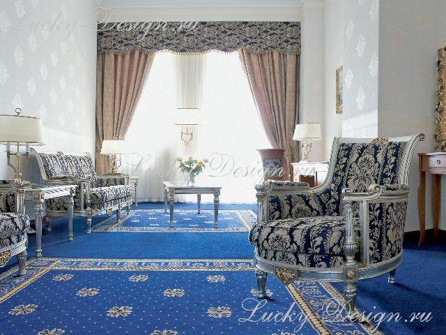 дизайн штор в классическом стиле