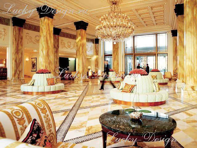 шторы в большой комнате