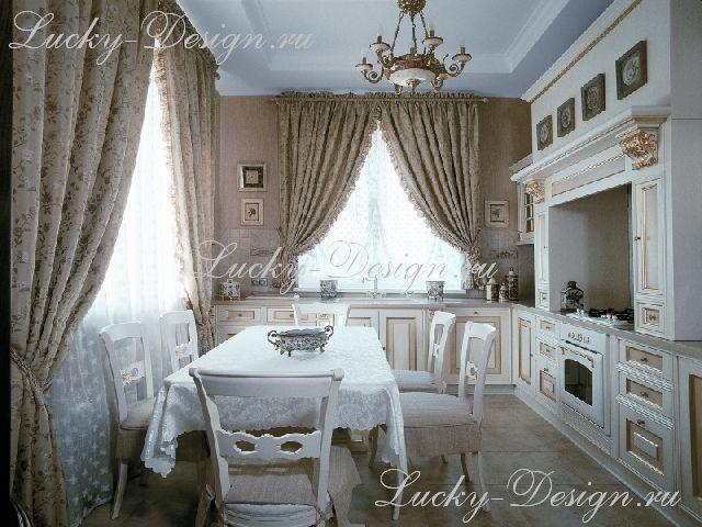 портьеры в стиле барокко