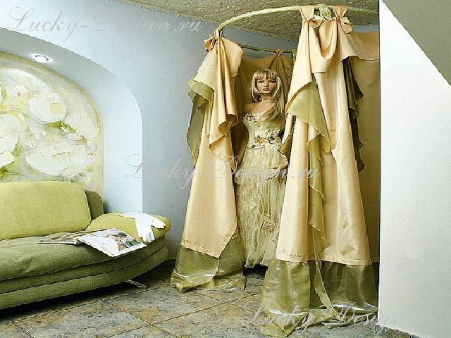 пошив штор в примерочные