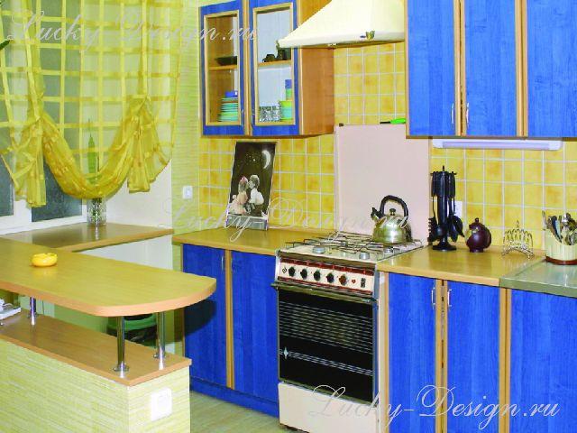 шторы для кухни на петлях