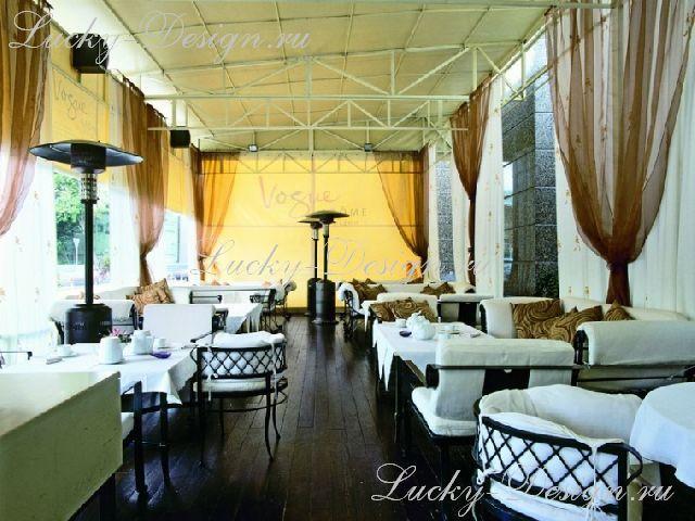 шторы для ресторана и кафе