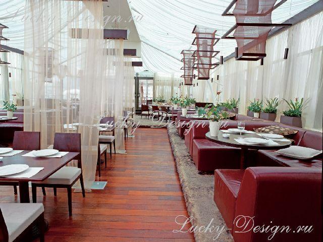 шторы для ресторана