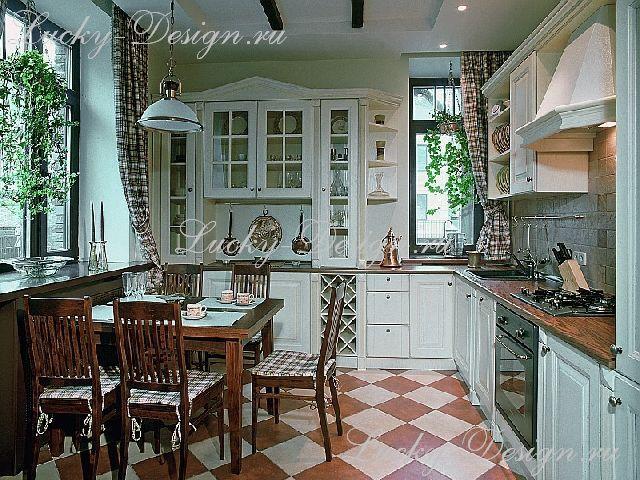 шторы для столовой кухни